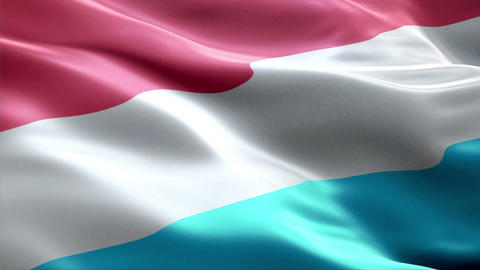 Flag Luxembourg Animation