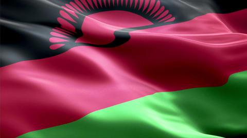 Flag Malawi Animation