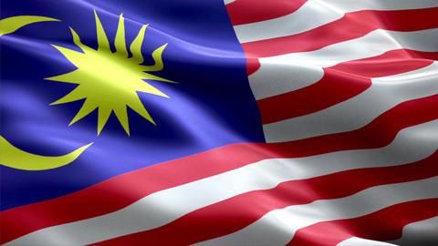 Flag Malaysia Animation