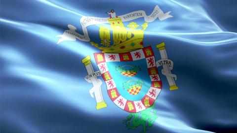 Flag Melilla Animation