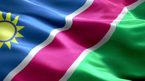 Flag Namibia Animation