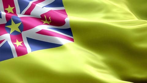 Flag Niue Animation