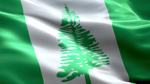 Flag Norfolk-Island Animation