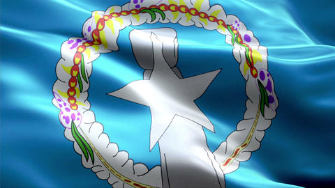 Flag Northern-Mariana-Islands Animation