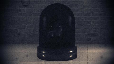 Police light flashing law enforcement hazard siren cops crime car cruiser 4k Footage
