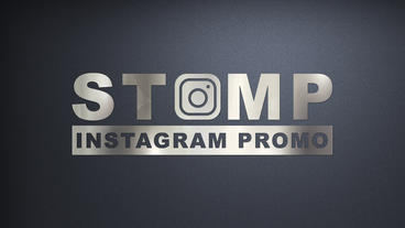 Stomp instagram promotion แม่แบบ Apple Motion