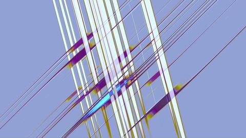 Abstract Network, Parallel Crossing Lines Animation