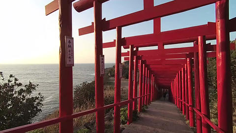 Motonosumi Inari Shrine 02 Footage
