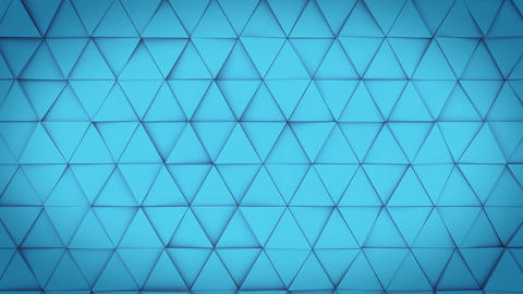 Triangles loop geometry Animation