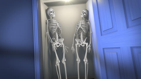 Skeletons in the Closet CG動画素材