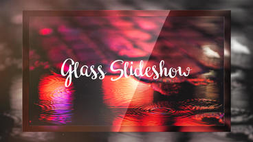 Glass Slideshow PR模板