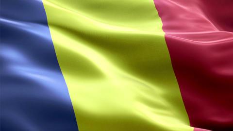 Flag Romania Animation