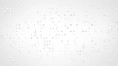 extruded white squares loopable animation Animation