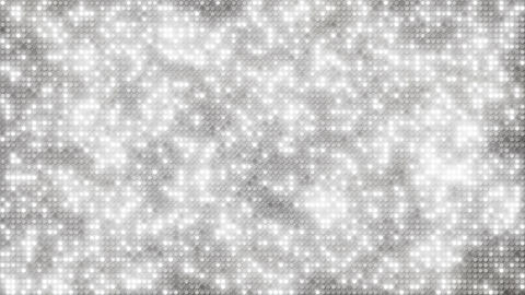 White glitter dots loopable background Animation