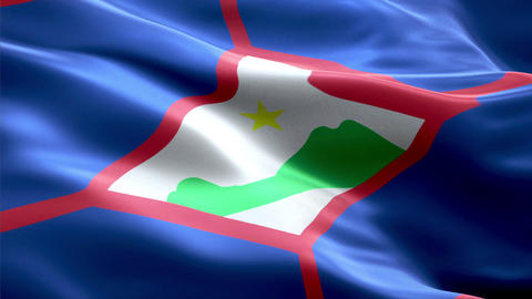 Flag Sint-Eustatius Animation
