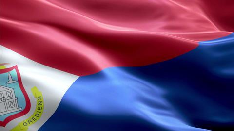 Flag Sint-Maarten Animation