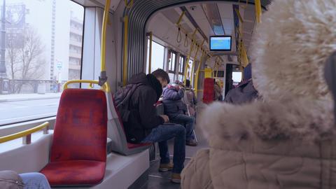 public transport passengers Live Action
