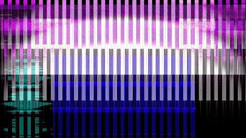 Glitch Transition Footage