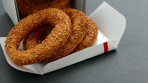 sesame bagels made of Islamic day kandil, Kandil Sesame Rings Live Action