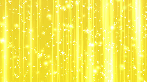 shining star rising background yellow gold CG動画素材