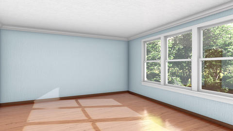 Building up bedroom interior 3d animation Animation