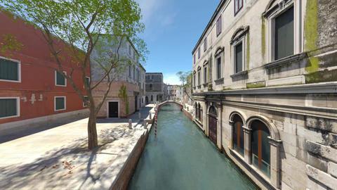 Landscape of Venice 애니메이션