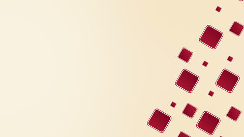 Burgundy Red Squares Background Loop Animación