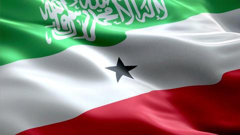 Flag Somaliland Animation