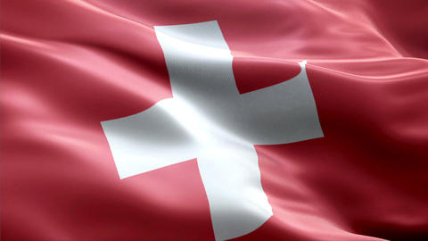 Flag Switzerland Animation