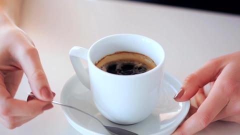 coffee with sugar Footage