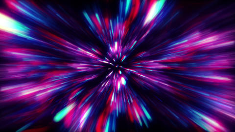Hypnotize Galaxy Explosion Background Animation