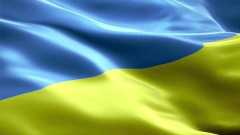 Flag Ukraine Animation