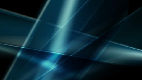 Dark blue glossy glowing abstract video animation Animation