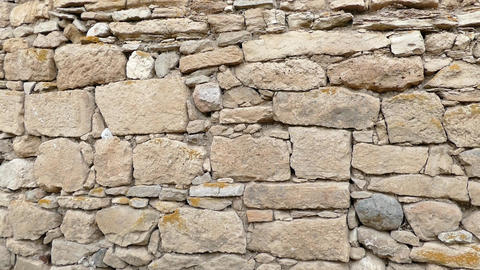 turkish classic stone wall, old stone wall Live Action