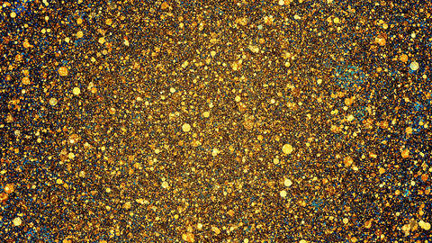 Golden Glitter Background Animation