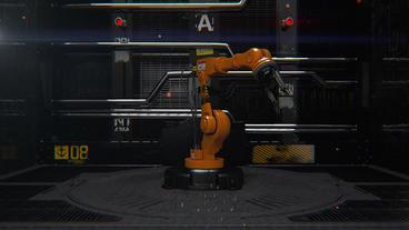 Robotarm Plantilla de After Effects