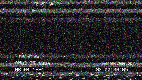 VHS Screen Indicators Pack CG動画