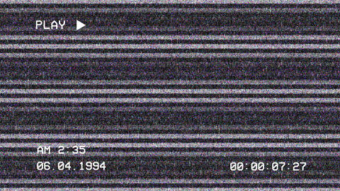 VHS Screen Indicators Pack Animation