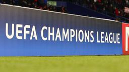 UEFA Champions League billboard Footage