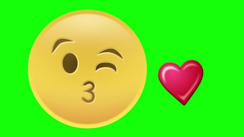 Kisses Emoji Animation