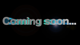 Coming soon, Stock Animation