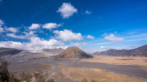 Cloudscape Timelapse at Mount Bromo Footage