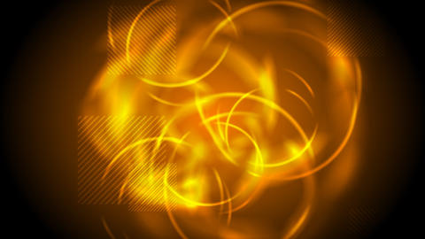 Tech glowing orange abstract video animation Animation