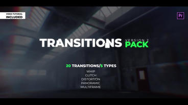 Transitions Pack V.2 Premiere Proテンプレート