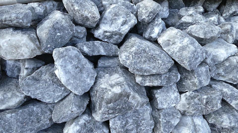 natural rock salt in large pieces, human health and rock... Stock Video Footage