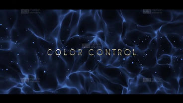 Particles Titles Plantilla de After Effects