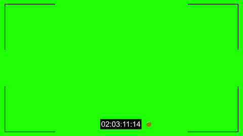 CCTV Cam Noise And Timecode Chroma Key 0