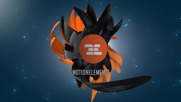 Organic Logo 3D Plantilla de After Effects