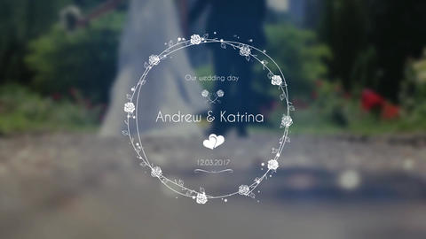 Wedding Title V 2 Motion Graphics Template