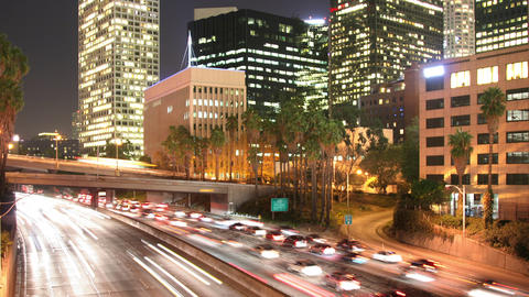 Loopable Time Lapse Traffic Los Angeles Archivo